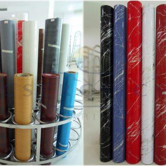 3D-s PVC Vákuum Fóliák