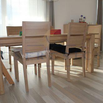 Tömörfa étkezőasztalok